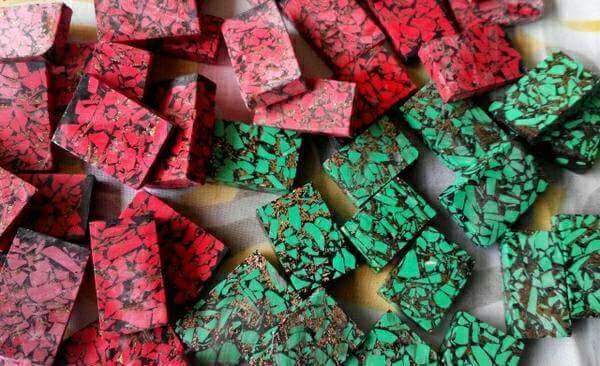 Pirus Imitasi / Block Turquoise