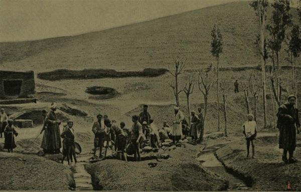 Neyshabur Turquoise Tambang pada tahun 1907
