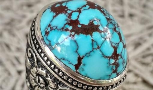 Cincin Pirus Persia Neyshabour Urat Jala Top HQ Asli Import Iran